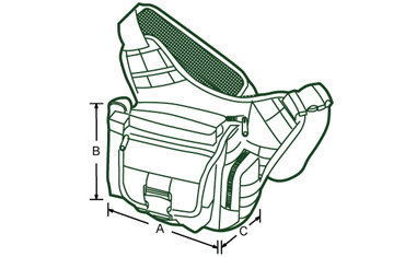 Multi-functional Tactical Messenger Bag - Detroit Holster